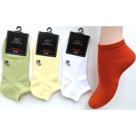 Damen Sneakersocken Uni